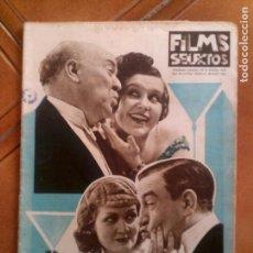 Cine: REVISTA FILMS SELECTOS N,214 DE 1934. Lote 131169216