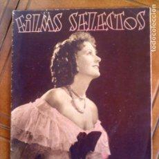 Cine: REVISTA FILMS SELECTOS N,310 AÑO 1936. Lote 131169348