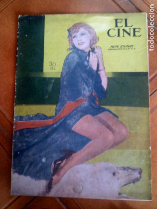 REVISTA EL CINE N,26 DEL AÑO 1935 (Cine - Revistas - Otros)