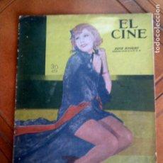 Cinéma: REVISTA EL CINE N,26 DEL AÑO 1935. Lote 131169452