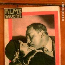 Cine: REVISTA FILMS SELECTOS N,189 DEL AÑO 1934. Lote 131169644