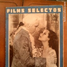 Cine: REVISTA FILMS SELECTOS N,204 AÑO 1934. Lote 131169692