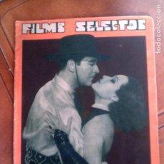 Cine: REVISTA FILMS SELECTOS N,190 DEL AÑO 1934. Lote 131169760