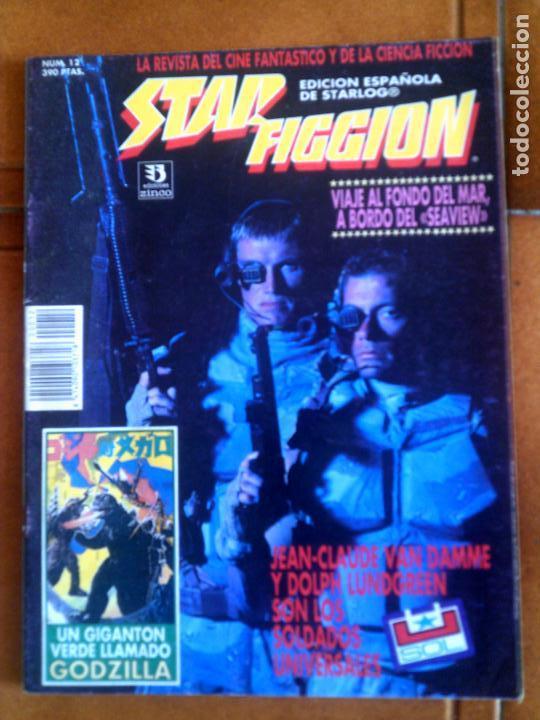 REVISTA STAR FICCION N,12 EDICIONES ZINCO (Cine - Revistas - Star Ficcion)