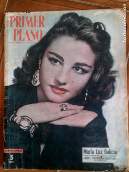 REVISTA PRIMER PLANO N,743 AÑO 1955 (Cine - Revistas - Primer plano)