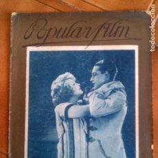 Cine: REVISTA POPULAR FILM N,41 DE 1927. Lote 131215384
