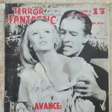 Cine: REVISTA TERROR FANTASTIC N°13 AÑO 1972. Lote 131344103