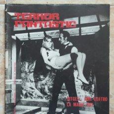 Cine: REVISTA TERROR FANTASTIC N°2 AÑO 1971. Lote 131344159