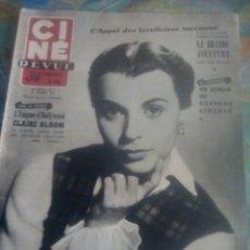 Cine: CINE REVUE 1953. Lote 131547226