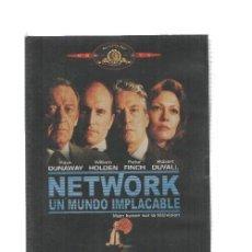 Cine: DVD PELICULA: NETWORK UN MUNDO IMPLACABLE. MGM DVD. 4 OSCARS. Lote 131712526