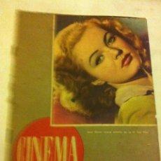 Cine: CINEMA - Nº.6 - AÑO 1946. Lote 131746930