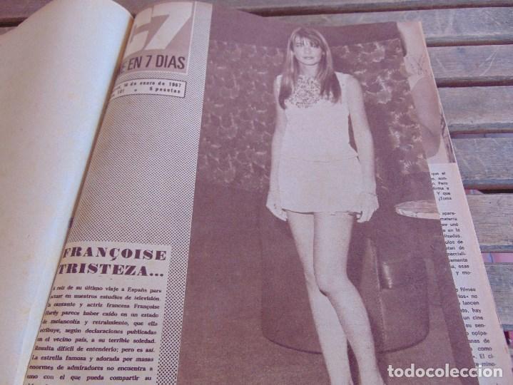 TOMO ENCUADERNADO DE LA REVISTA CINE EN 7 DIAS AÑO 1967 26 REVISTAS (Cine - Revistas - Cine en 7 dias)