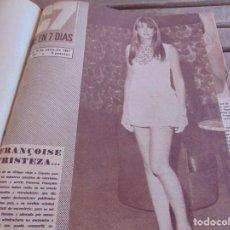 Cine: TOMO ENCUADERNADO DE LA REVISTA CINE EN 7 DIAS AÑO 1967 26 REVISTAS. Lote 131788186