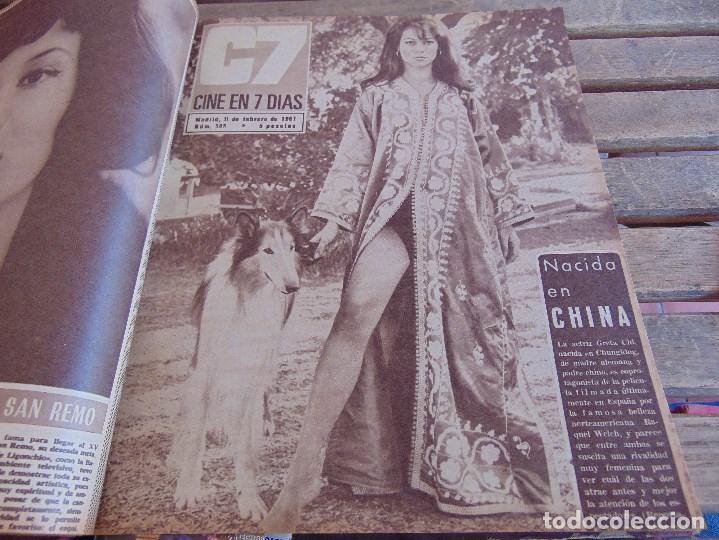 Cine: TOMO ENCUADERNADO DE LA REVISTA CINE EN 7 DIAS AÑO 1967 26 REVISTAS - Foto 5 - 131788186