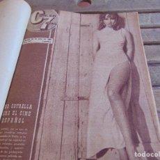 Cine: TOMO ENCUADERNADO DE LA REVISTA CINE EN 7 DIAS AÑO 1966 24 REVISTAS. Lote 131788610