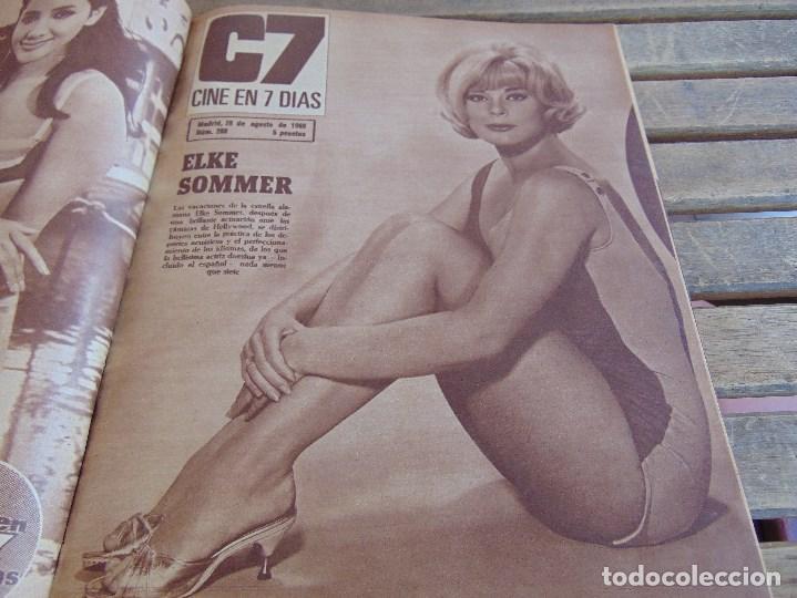 Cine: TOMO ENCUADERNADO DE LA REVISTA CINE EN 7 DIAS AÑO 1966 24 REVISTAS - Foto 4 - 131788610