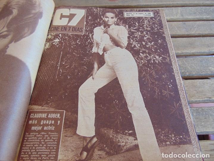 Cine: TOMO ENCUADERNADO DE LA REVISTA CINE EN 7 DIAS AÑO 1966 24 REVISTAS - Foto 8 - 131788610