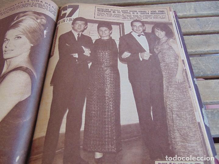 Cine: TOMO ENCUADERNADO DE LA REVISTA CINE EN 7 DIAS AÑO 1966 24 REVISTAS - Foto 12 - 131788610