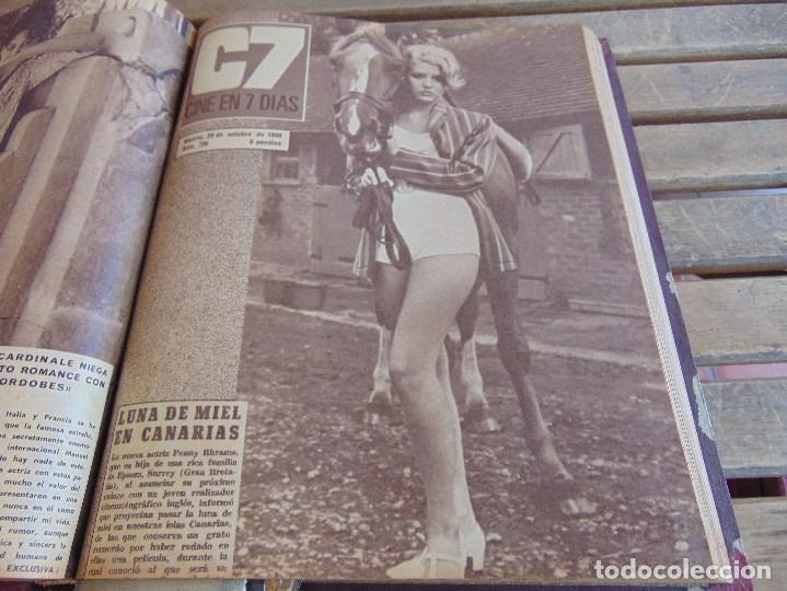 Cine: TOMO ENCUADERNADO DE LA REVISTA CINE EN 7 DIAS AÑO 1966 24 REVISTAS - Foto 14 - 131788610