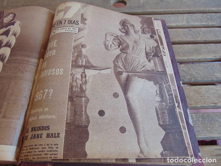 Cine: TOMO ENCUADERNADO DE LA REVISTA CINE EN 7 DIAS AÑO 1966 24 REVISTAS - Foto 25 - 131788610