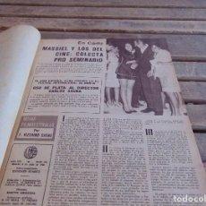 Cine: TOMO ENCUADERNADO DE LA REVISTA CINE EN 7 DIAS AÑO 1968 25 REVISTAS . Lote 131789202