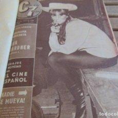 Cine: TOMO ENCUADERNADO DE LA REVISTA CINE EN 7 DIAS AÑO 1964 25 REVISTAS . Lote 131789626