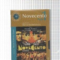 Cine: PELICULA, VHS: NOVECENTO PARTE 1, UNA PELICULA DE BERNARDO BERTOLUCCI. EL MUNDO. Lote 131923529