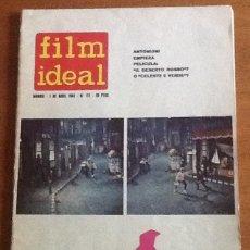 Cine: FILM IDEAL 117, ABRIL 1963. Lote 131970886