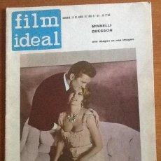 Cine: FILM IDEAL 118, ABRIL 1963. Lote 131970970