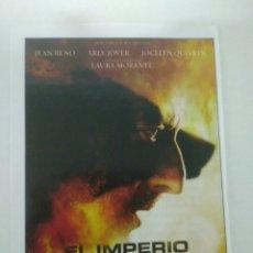Cine: EL IMPERIO DE LOS LOBOS.JEAN-CHRISTOPHE GRANGE. Lote 132033129