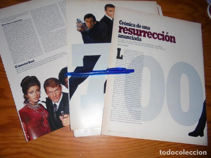 RECORTE PRENSA : RESURRECCION DEL AGENTE 007. CINEMANIA, DICBRE 1995 (Cine - Revistas - Cinemanía)