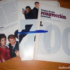 Cine: RECORTE PRENSA : RESURRECCION DEL AGENTE 007. CINEMANIA, DICBRE 1995. Lote 132232258
