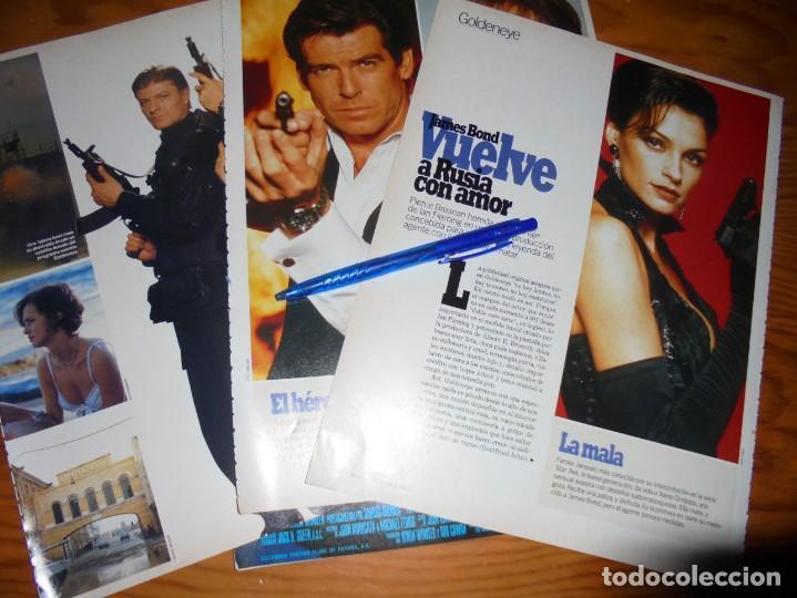 RECORTE PRENSA : GOLDENEYE, AGENTE OO7. PIERCE BROSNAN. CINEMANIA, DICBRE 1995 (Cine - Revistas - Cinemanía)