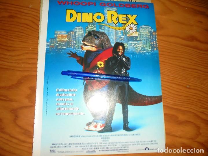 PUBLICIDAD PELICULA : DINO REX. WHOOPI GOLDBERG. CINEMANIA, DICBRE 1995 (Cine - Revistas - Cinemanía)