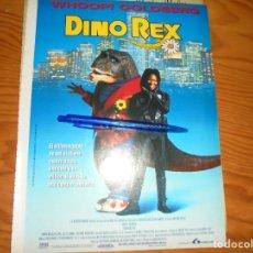 Cine: PUBLICIDAD PELICULA : DINO REX. WHOOPI GOLDBERG. CINEMANIA, DICBRE 1995. Lote 132232614