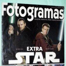 Cine: REVISTA FOTOGRAMAS - STAR WARS - LA AMENAZA FANTASMA - LA GUERRA DE LAS GALAXIAS. Lote 132705774
