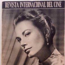 Cine: REVISTA INTERNACIONAL DE CINE AÑOS 1.952 / 1.963. COLECCIÓN COMPLETA SON 43 REVISTAS CON LOS INDICES. Lote 132997110