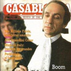 Cine: CASABLANCA, AÑOS 1.981 / 1.985. COLECCIÓN COMPLETA SON 47. REVISTAS NUEVAS.. Lote 133003266
