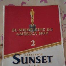Cine: REVISTA. FASCÍCULO Nº 2 EL MEJOR CINE DE AMÉRICA HOY. COLECCIÓN SUNSET, PLANETA AGOSTINI.. Lote 133050354