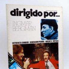 Cine: REVISTA DE CINE DIRIGIDO POR… 29. INGMAR BERGMAN / CHAVARRI / HUELVA 75 (VVAA), 1976. Lote 133229422