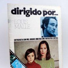 Cine: REVISTA DE CINE DIRIGIDO POR… 30. LOUIS MALLE / MEL BROOKS / CINE FANTÁSTICO / RISI (VVAA), 1976. Lote 133229426