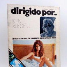 Cine: REVISTA DE CINE DIRIGIDO POR… 31. KEN RUSSELL / SAURA / CINE PORNOGRÁFICO / DREYER (VVAA), 1976. Lote 133229430