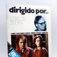 Cine: REVISTA DE CINE DIRIGIDO POR… 32. CARLOS SAURA / CAMUS / SCHLESINGER / HERZOG / FORMAN (VVAA), 1976. Lote 143398494