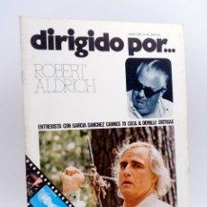 Cine: REVISTA DE CINE DIRIGIDO POR… 34. ROBERT ALDRICH / GARCÍA SÁNCHEZ / DEMILLE / CANNES 76 (VVAA), 1976. Lote 133229450