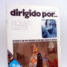 Cine: REVISTA DE CINE DIRIGIDO POR… 35. RICHARD LESTER / PACO REGUERO / FELLINI / BERLIN 76 (VVAA), 1976. Lote 133229454