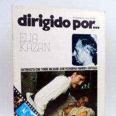 Cine: REVISTA DE CINE DIRIGIDO POR… 36. ELIA KAZAN / TORRE NILSSON / PECKINPAH / ROHMER (VVAA), 1976. Lote 133229518