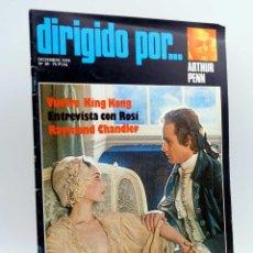 Cine: REVISTA DE CINE DIRIGIDO POR… 39. ARTHUR PENN / KING KONG / ROSI / CHANDLER (VVAA), 1976. Lote 143398521