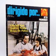 Cine: REVISTA DE CINE DIRIGIDO POR… 40. OTTO PREMINGER / CINE DEL ESTE / BRIAN DE PALMA (VVAA), 1977. Lote 133229534