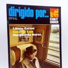 Cine: REVISTA DE CINE DIRIGIDO POR… 41. STANLEY KUBRICK / CAVANI / CINE DEL ESTE / M. DURAS (VVAA), 1977. Lote 133229538