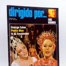 Cine: REVISTA DE CINE DIRIGIDO POR… 42. ERIC ROHMER / CUKOR / OLEA / FASSBINDER (VVAA), 1977. Lote 133229542